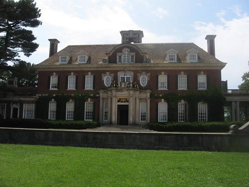 Entrance to Old Westbury House