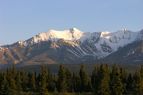 Summer Night in the Yukon