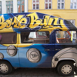 Grafitti-Bus