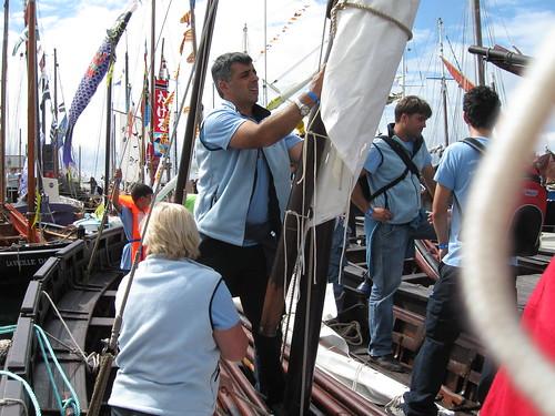 Brest 2008 : Sortie en mer