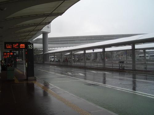 narita rainstorm