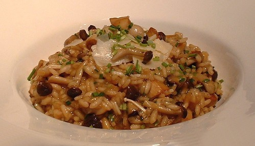 Asian Mushroom Risotto incl shimeji