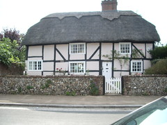 An old house in Castle Street, Portchester