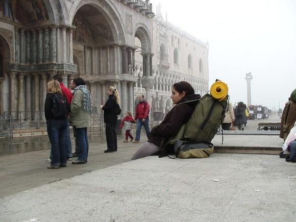 Tenny in Piazza San Marco, Venice
