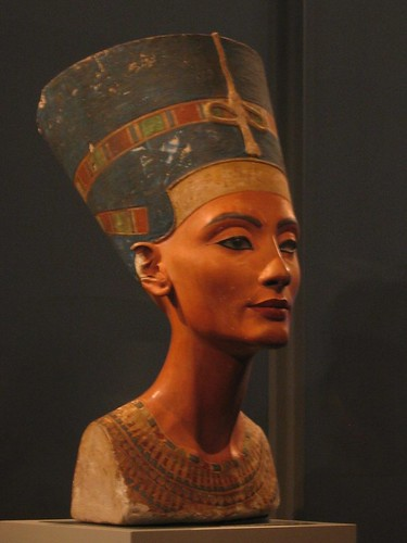 Queen Nefertiti at the Altesmuseum.