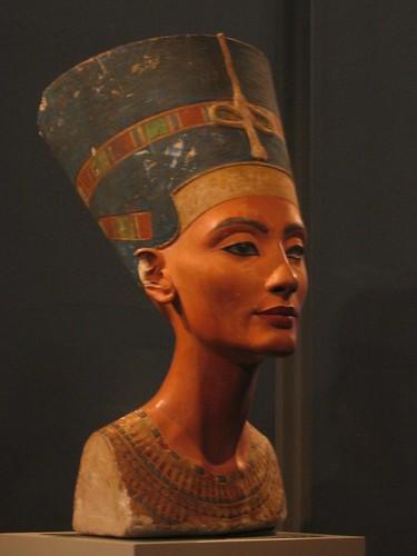 Queen Nefertiti at the Altesmuseum.