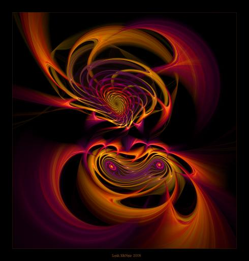 Fractal Art: Aries Woman
