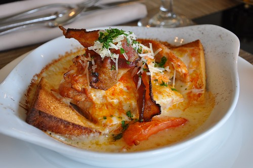 Hot Brown at The Brown Hotel Louisville KY