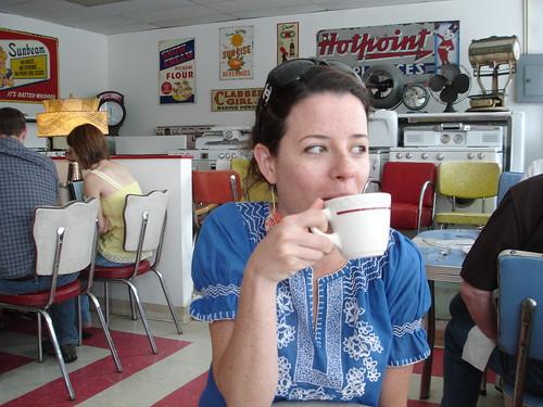 Margo at Java Jive