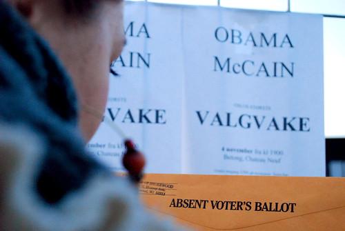 Absent Voter's Ballot