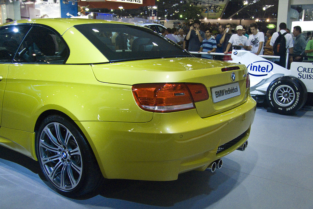 Picture Bmw M3 E93 Convertible Indivdual Phoneix Yellow