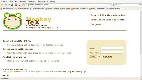 LaTeX online crea tus propios PDFs