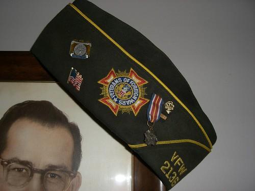 Jim's Dad's VFW hat