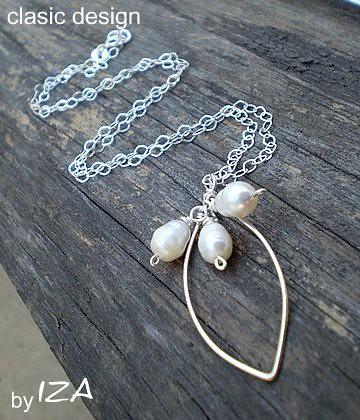bijuterii cu perle-colier argint cu perle by you.