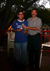 Edgar Garcia Tercer Lugar del Torneo