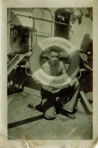 Willy van Bergen, S.S. Waterman 1949