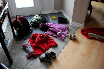 Backpacks and jackets