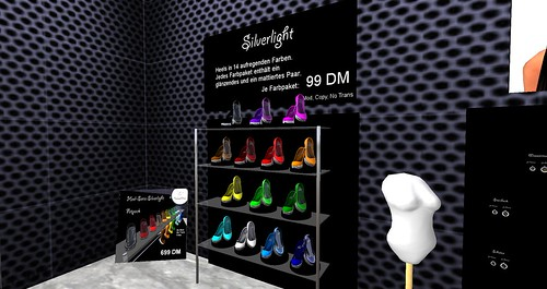 A set of shoes - the Silverlight line