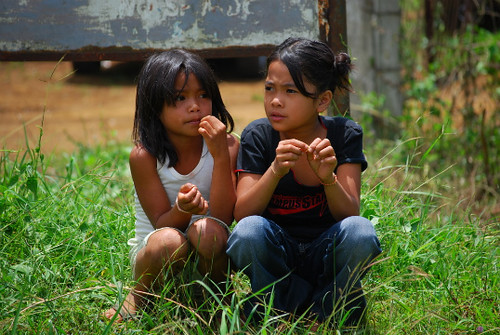 Sumilao Bukidnon children girls Pinoy Filipino Pilipino Buhay  people pictures photos life Philippinen  菲律宾  菲律賓  필리핀(공화�) Philippines