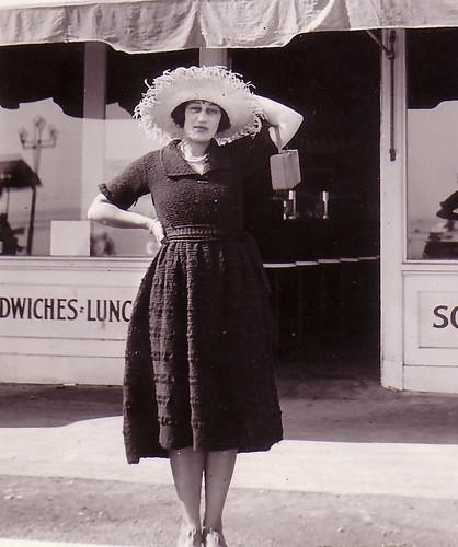 Rose Gruenberg in front of Boyer's Sweet Shop-2.jpg
