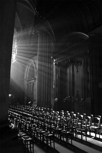 Lumières de la cathédrale de Reims