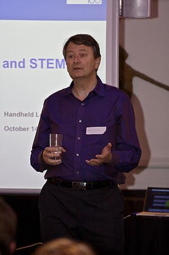 Speaking at Handheld Learning in RL