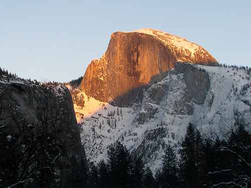 Day 04 - Half Dome Sunset