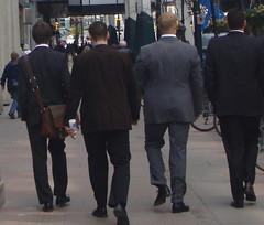 Four Business Men