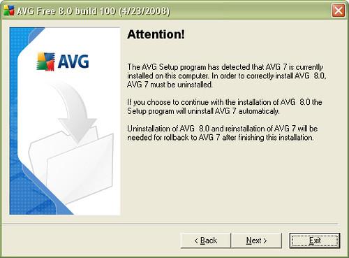 AVG 8 Free Edition - 01