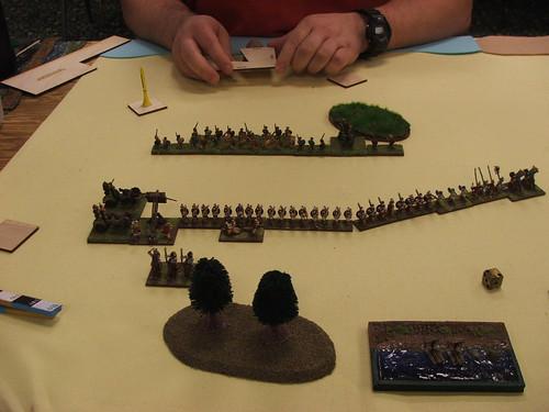 Rich turning my flank, sans general.