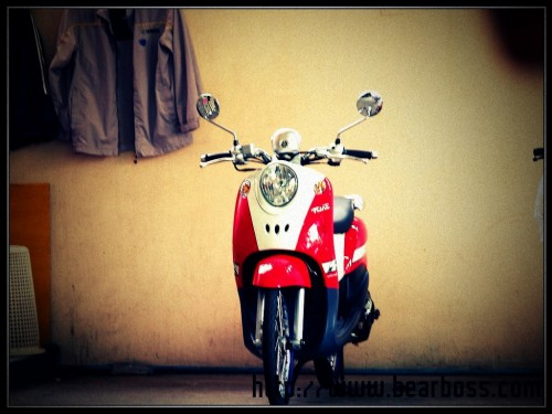 Motocycle in Thailand - Lomo Style