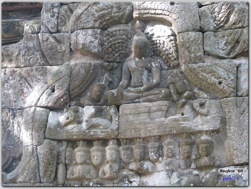 Buddha carving - Preah Palilay