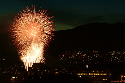 Fireworks Over Vancouver