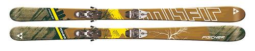 Fischer Misfit Skis 2008/09