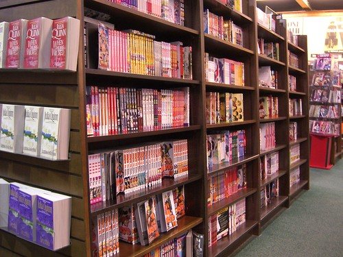 Manga Section at BN