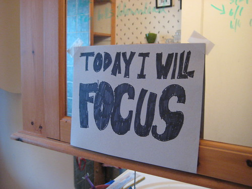 Today I will focus