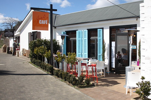 Berrima, cafe with nice food