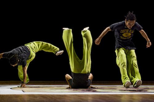 Cut - part of Cut-Ups (bad fall) exhibition - hip hop dance