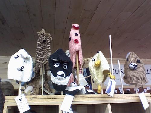 fun animal hats!