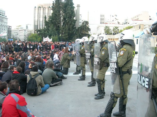 45 Demonstration in Athens