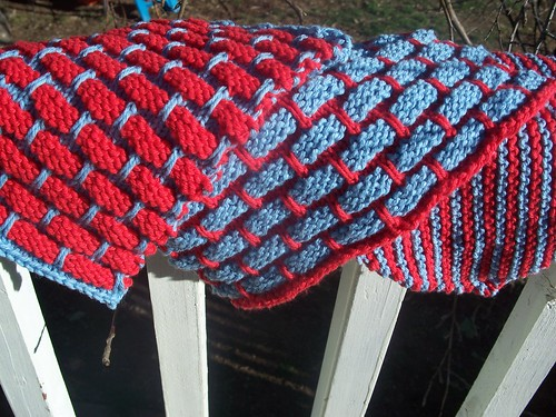 dishcloth, knit
