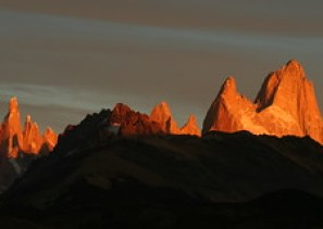 Cerro Torre & Mount Fitzroy at sunrise