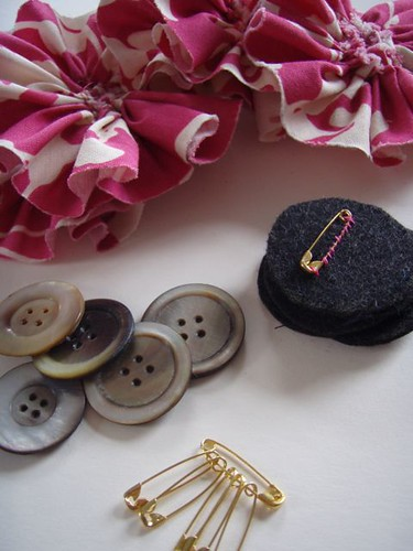 corsages in production