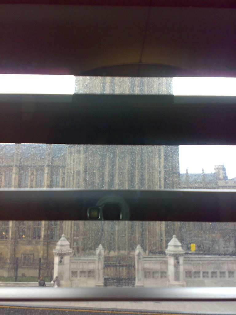 View from Meeting Room N, Portcullis House
