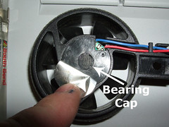 Use small screwdriver or sharp object to remove dust cap