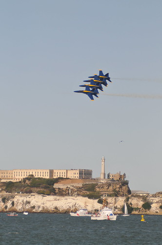San Francisco Fleet Week - Blue Angels Friday Practice