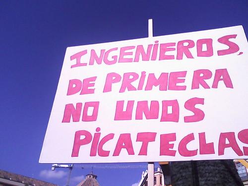 Picateclas, no