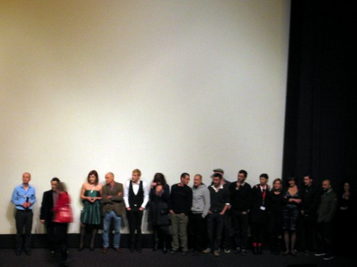 Cast of Strella at the Berlinale.