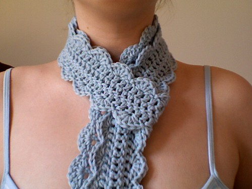 Azzys Finished One Skein Scarf 2