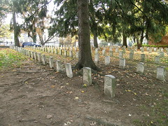 Civil War graves at the USSAH National Cemetery.
